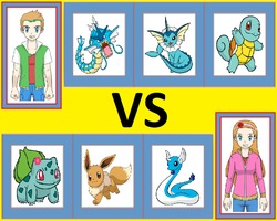 Pokemon Battle: Barron vs Britney by WillDynamo55