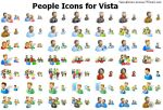People Icons for Vista by alexwhite2