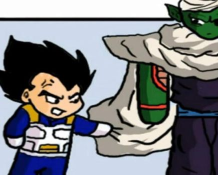 + Vegeta_and_Piccolo + by DBpictures