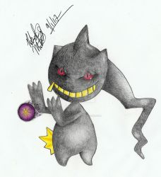 Banette by xCoNxKiller