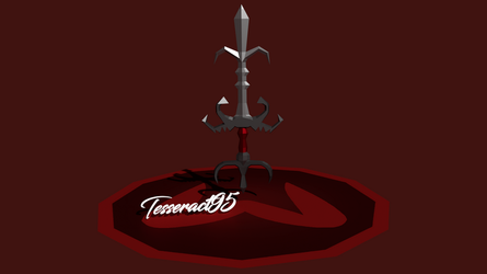 Runescape - 3D Zamorak God Sword |Old Style| by Tesseract95