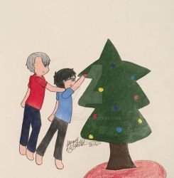 Christmas Advent - Day 8 by Jengogirl