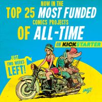 In the TOP 25 MOST FUNDED comics on KICKSTARTER! by STUDIOBLINKTWICE