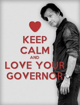 The Governor/Keep Calm Poster by oab1303