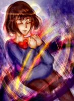 Frisk- Undertale by Lydomia