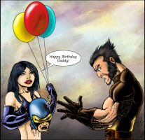 X23 and Wolverine by DW-DeathWisH