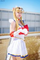 Super Sailor Moon (Legendary Silver Crystal) by GlowingSnow