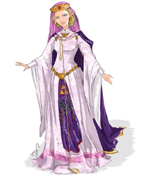 Princess Zelda by Shanks-kun