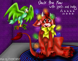 Deck the Kau by RoseSagae