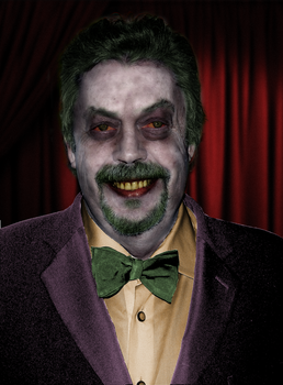 Tim Curry as the Joker by Elmic-Toboo
