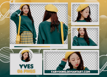 [PNG PACK #539] Yves - LOONA by fairyixing