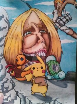 Attack On Pokemon by K-Kreations