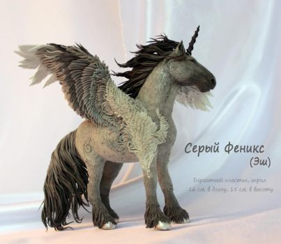 Pegasus Grey Phoenix by hontor