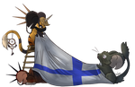 Finnish 100th anniversary - Transformice Style by Vivumn