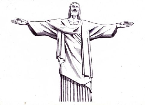 Redeemer from Rio. by lukaszart