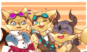 Three pip coloring is fin! by winterout1