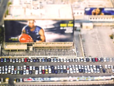 Tilt Shift From Above by CreativeStubble