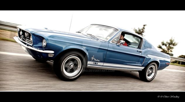 Driving 68' Fastback by Ollidoro
