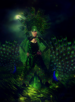Peacock by Lhianne