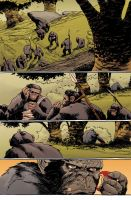 Dawn of the Planet of the Apes #3 pg9 Colors by JasonWordie