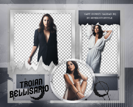 Png Pack 1003 // Troian Bellisario by confidentpngs