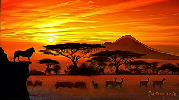 The Plains of Africa by PeterPawn
