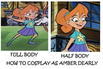 How to Cosplay as Amber Dearly by Prentis-65