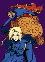 The Fantastic Four by Prongsky