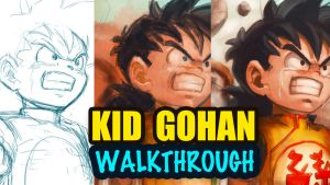 Kid Gohan walkthrough video by Mark-Clark-II