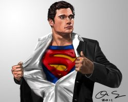 Henry Cavill is Superman by osx-mkx