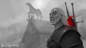 Happy Anniversary Geralt by Raiddo