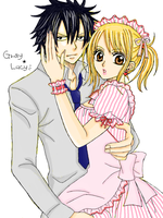 Gray and Lucy by pif4eto96