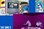Vinyl Scratch Equestria Girls Sims 3 by Vaux111