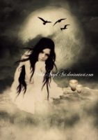 *moonlight thoughts* by BellaDreamArt