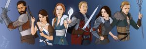 The Guardians of Thedas by Merwild