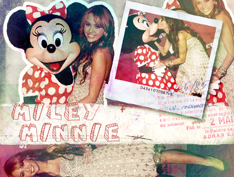 Miley and Minnie by georgialyse