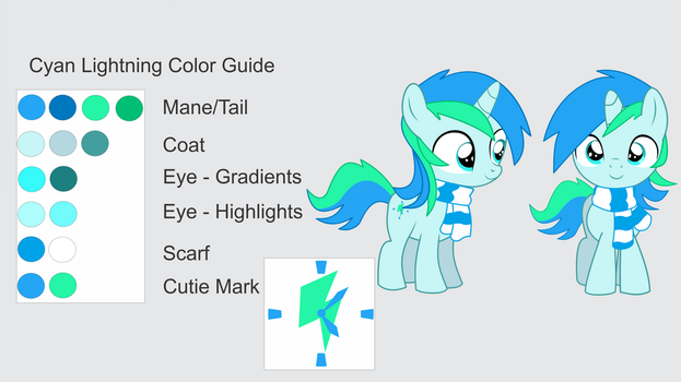 Cyan Lightning - Color Guide Updated 2.0 by CyanLightning