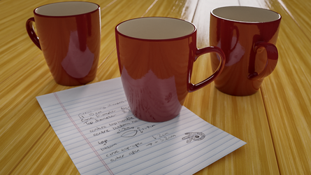 3 Mugs plus Instructions by TheBigDaveC