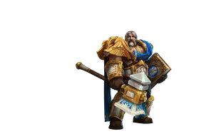 Uther Lightbringer - Heroes of the Storm by PlanK-69
