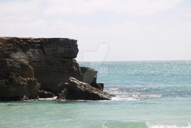 Cliff side view by bl1zzardst0rm