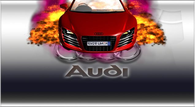 Audi R8-4 by TheRedCrown