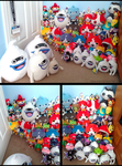 My Yo-kai Watch Plush Collection by Fishlover