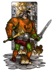 MiniCharacters - Man-at-Arms by NicolasRGiacondino