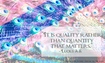 Everyday Quote #10: Colorful Quality by sugarnote