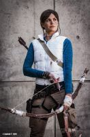 Lara Croft Mountaineer by Tyalis-photo