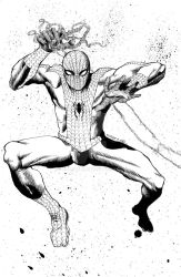 Kirby does Spidey by CRUCASE