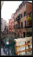 Backstreets of Venice by jadeoracle