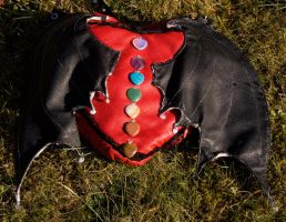 Leather Heart Shaped Bag by Kitsch-Craft