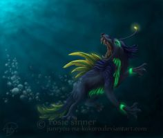 Disturbance in the Abyss by rosiesinner