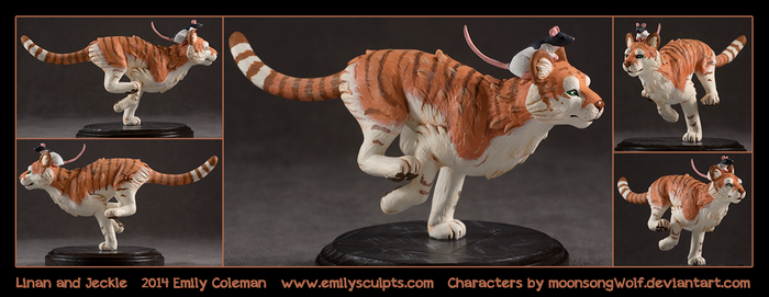 Commission : Linan and Jeckle by emilySculpts